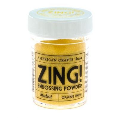 Zing Embossing pulver Mustard