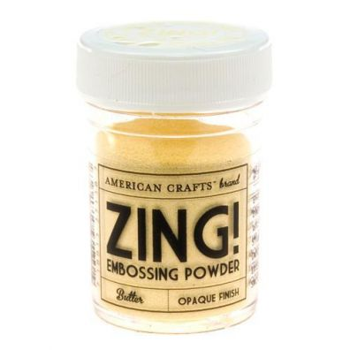Zing Embossing pulver Butter