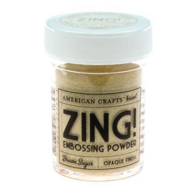 Zing Embossing pulver Brown Sugar