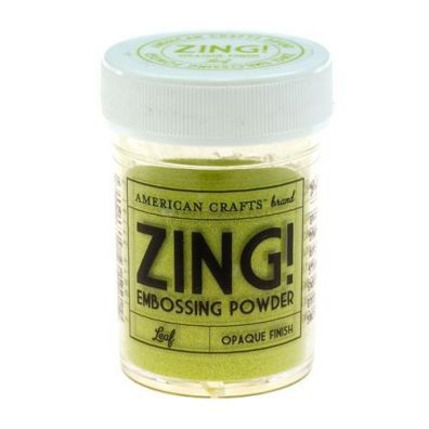 Zing Embossing pulver Leaf