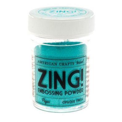Zing Embossing pulver Aqua