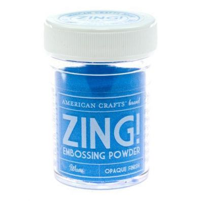 Zing Embossing pulver Wave