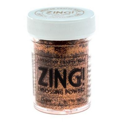 Zing Embossing pulver Copper Glitter