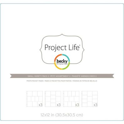 Project Life Fotolommer - Small Variety Pack 3