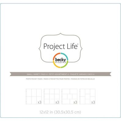 Project Life Fotolommer - Small Variety Pack 4