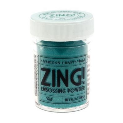 Zing Embossing pulver Metallic Teal