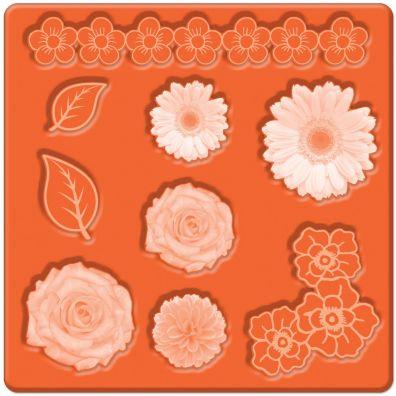 Mod Podge Mold - Flowers