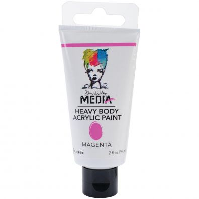 Dina Wakley Heavy Body Acrylic Paint - Magenta