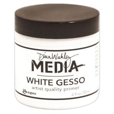 Dina Wakley White Gesso - 4oz