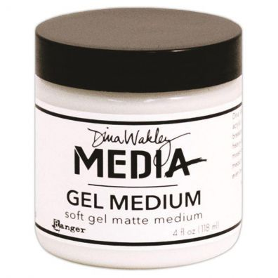Dina Wakley Matte Gel Medium - 4oz