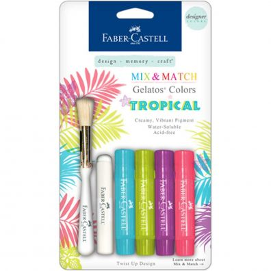 Faber Castell Mix & Match Gelatos Tropical