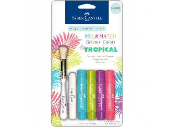 Faber Castell Mix & Match Gelatos Tropical