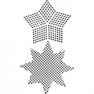 Dina Wakley Stencil/ Mask - PL Canvas Star