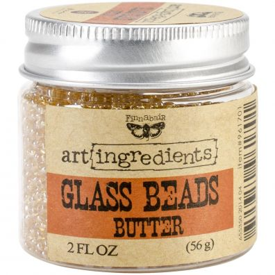 Prima Glass Beads Butter