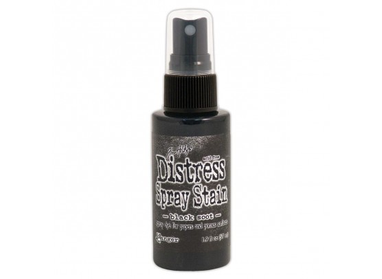 Distressed Spray Stain - Black Soot