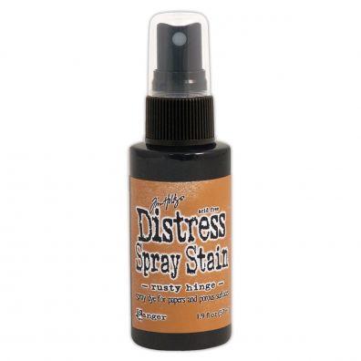 Distressed Spray Stain - Rusty Hinge