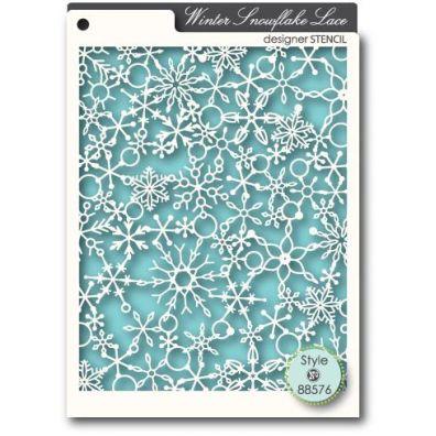 Memory Box Mask/ Stencil Snowflake Lace