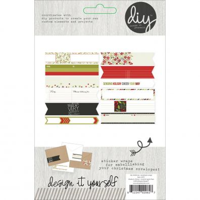 Simple Stories DIY Christmas DIY Envelope Wraps