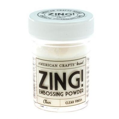 Zing Embossing pulver Clear