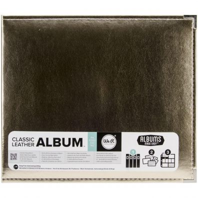 We R Memorykeepers - Classic Leather Album 12x12 - Gold
