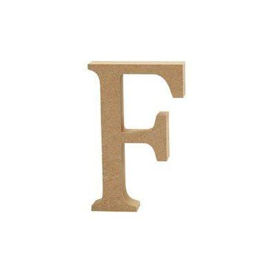 Bogstav i MDF - F