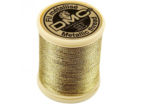 DMC Tråd - guld 0,8mm - 40m