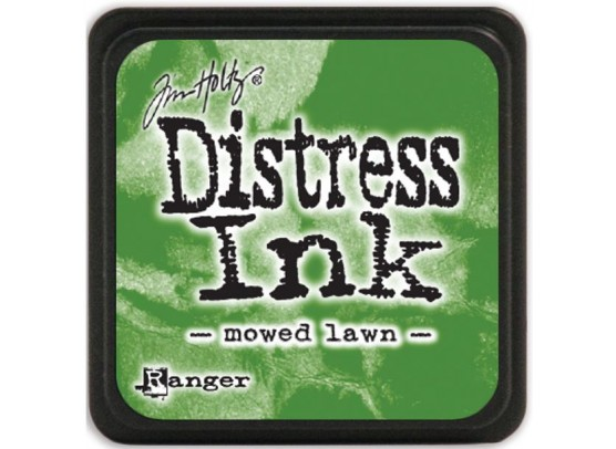 Distress Ink Mini - Moved lawn