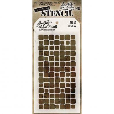 Tim Holtz Stencil/ Mask - Tiles