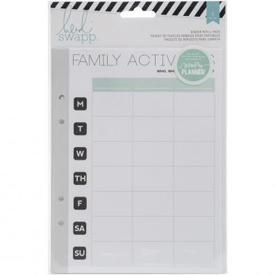Heidi Swapp Hello Activity Binder refill Pack
