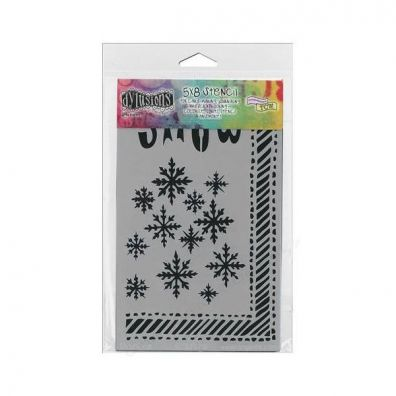 Dylusions Cling Stamps - Let it Snow