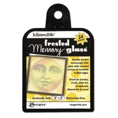 Ranger Inkssentials Memory Frosted glass 2x2
