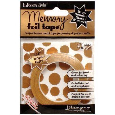 """Ranger Inkssentials Memory foil tape1/4"""" copper"""