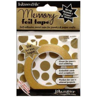 "Ranger Inkssentials Memory foil tape 1/4"" Brass"