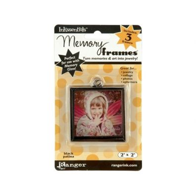 Ranger Inkssentials Memory frames 2x2 black patina 3 pcs