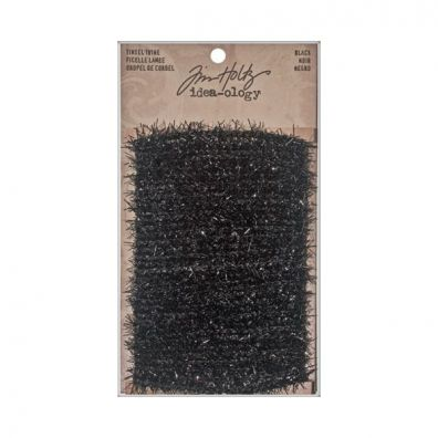 Tim Holtz Tinsel Twine Black