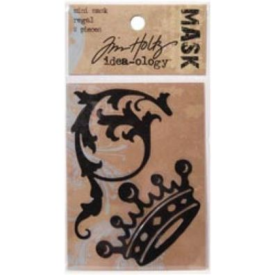 Tim Holtz Mini Mask regal