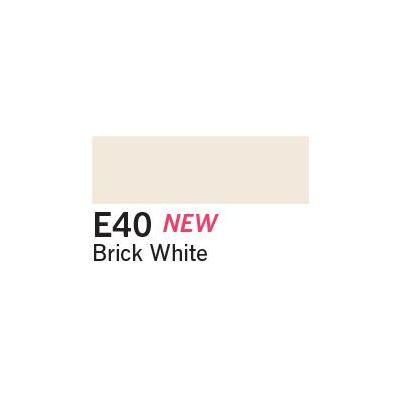 Copic Ciao Marker - E40 Brick White