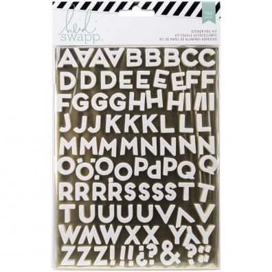 Heidi Swapp Stickers Foil Kit