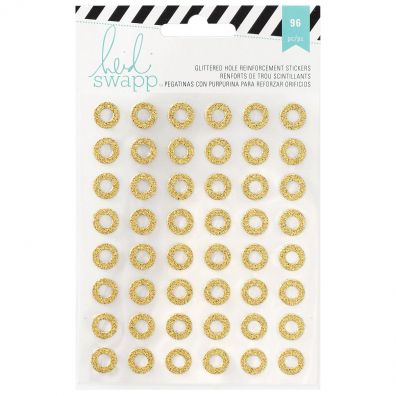 Heidi Swapp Memory Planner Glittered Hole Reinforced Stickers