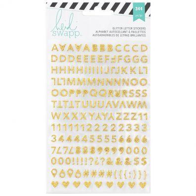 Heidi Swapp Memory Planner Glitter Letter Stickers