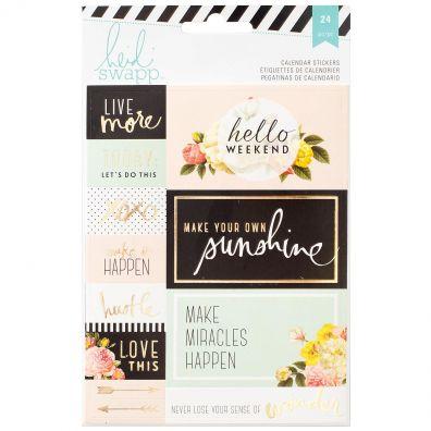 Heidi Swapp Memory Planner Calendar Stickers