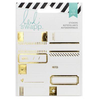 Heidi Swapp Memory Planner Gold Foil Labels