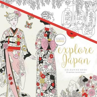 Kaiser Craft Colouring Book - Explore Japan
