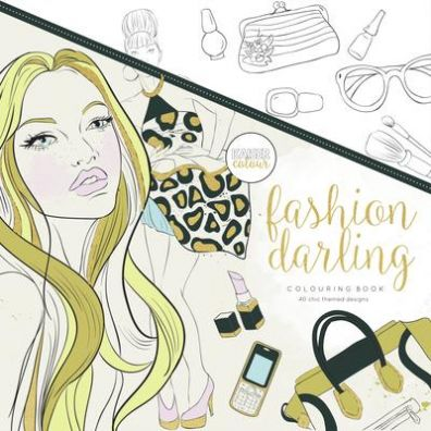 Kaiser Craft Colouring Book - Fashion Darling