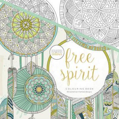 Kaiser Craft Colouring Book - Free Spirit
