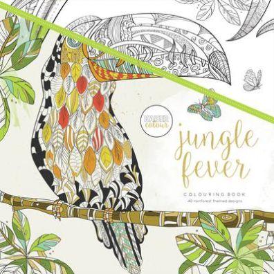Kaiser Craft Colouring Book - Jungle Fever