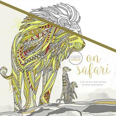 Kaiser Craft Colouring Book - On Safari