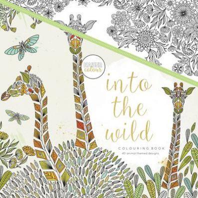 Kaiser Craft Colouring Book - Into the Wild