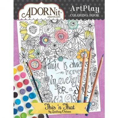 Adorn It Colouring Book - This'n'that