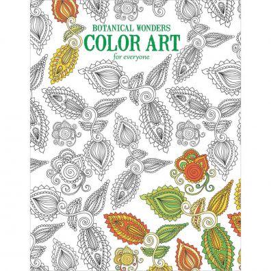 Botanical Wonders Color Art Colouring Book
